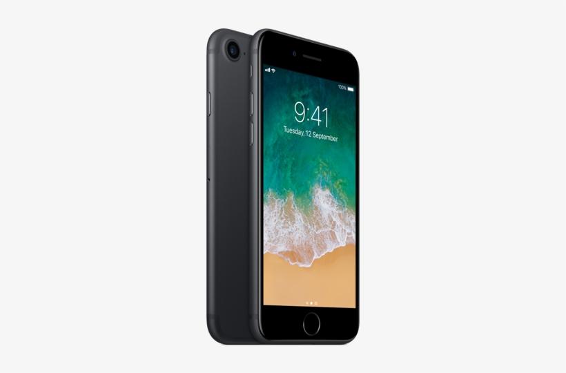Iphone Apple Iphone 7 Jet Black Free Transparent Png Download