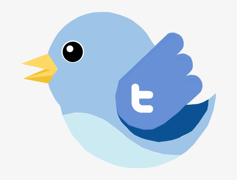 23 Nov - Twitter Bird Vector, transparent png #3963890