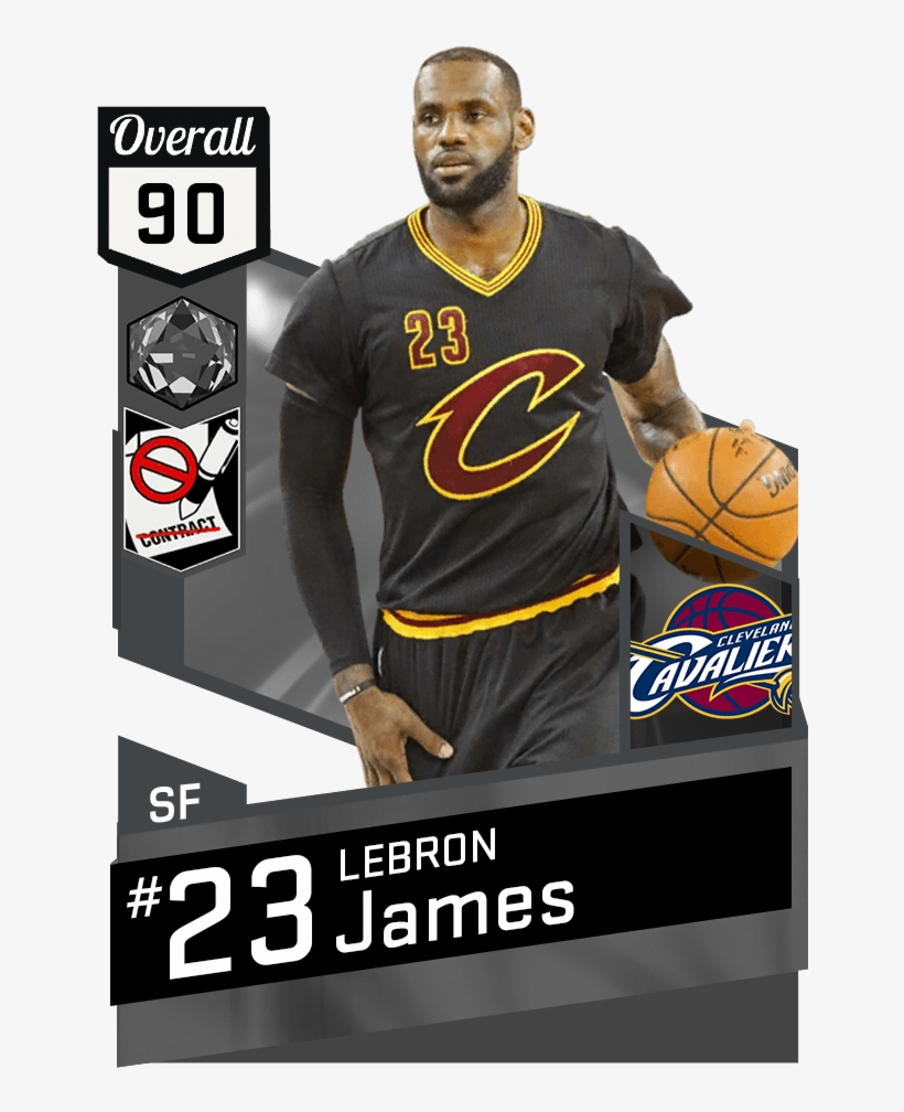 Mtdb Nba 2k17 - Cleveland Cavaliers One-subject Spiral Notebook Multi, transparent png #3965657