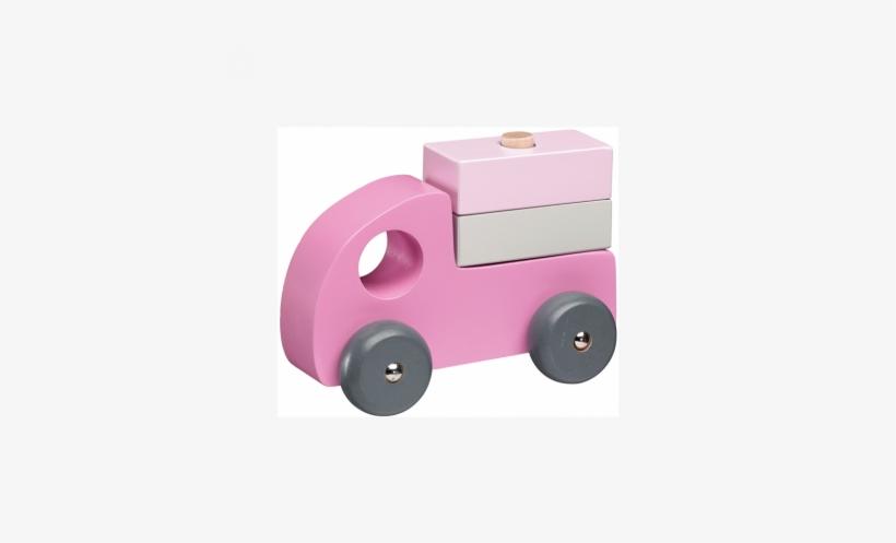 Pink Car Set - Kids Concept Drewniane Samochody 412224, transparent png #3969107