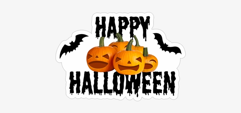 Happy Halloween - Happy Halloween Clipart Black And White, transparent png #3970288