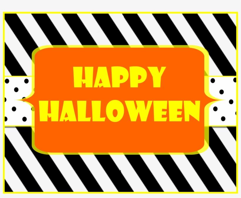 Happy Halloween Halloween Printable - Happy Halloween Help Yourself Sign, transparent png #3970396