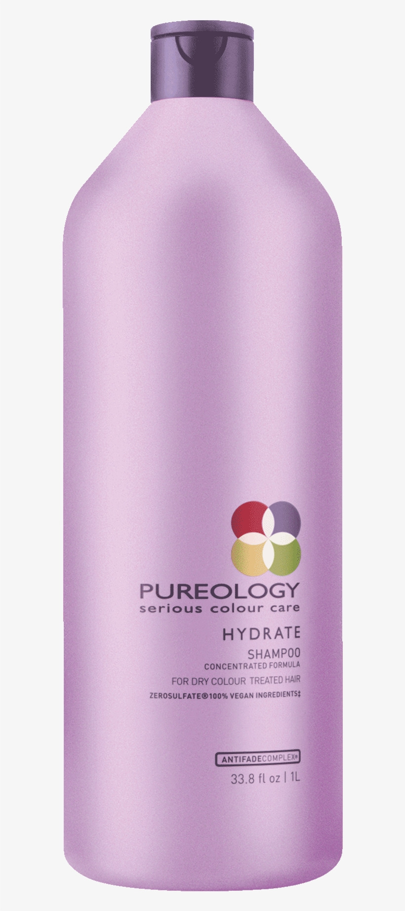 Hydrate Sulfate Free Shampoo Liter For Dry, Color Treated - Born Haircare Pureology Clean Volume Conditioner 50ml, transparent png #3971122