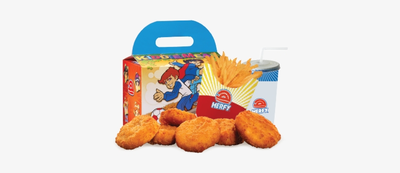 Kiddie Meal Chicken Nuggets 6 Pcs - Peanut Butter Cookie, transparent png #3971417