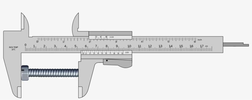 Simple Vernier Caliper Drawing