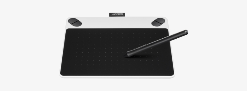 Wacom - Wacom Intuos Draw Pen Tablet - Small White - Free