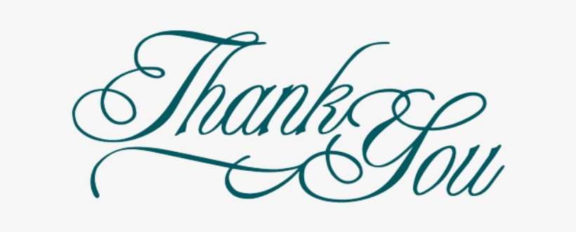 Plain Thank You - Thank You For Your Support Png, transparent png #3979338