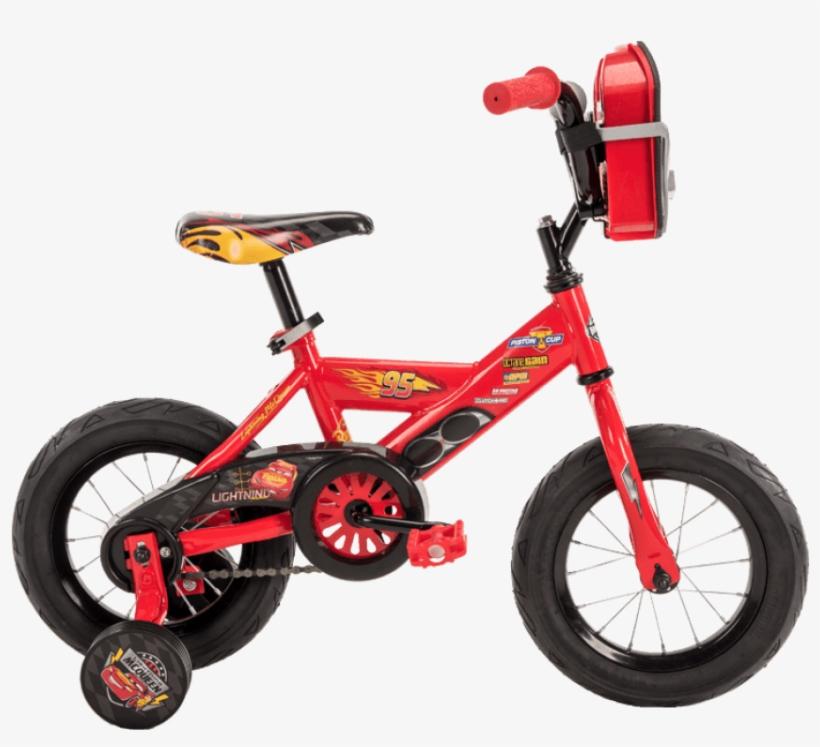 Disney•pixar Cars 3 Boys' Bike - Lightning Mcqueen Bike, transparent png #3982275