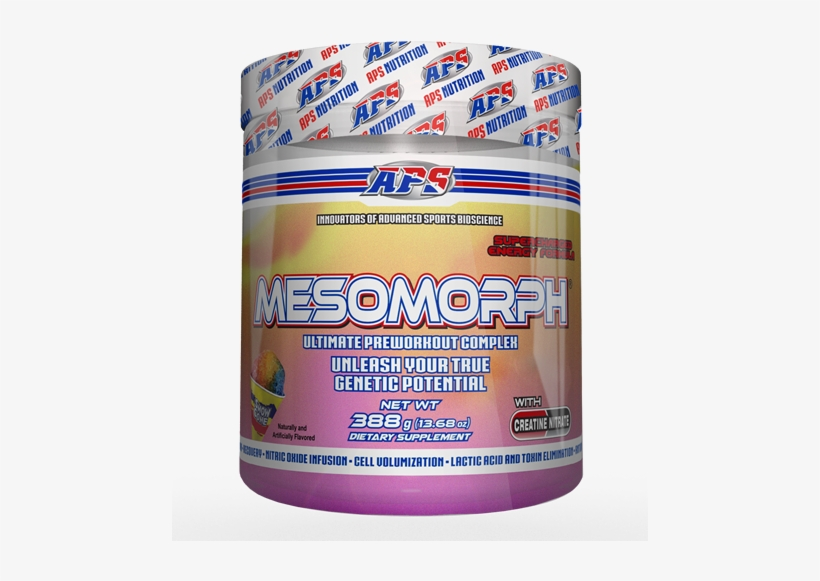 Aps Mesomorph V3 Pre-workout Snow Cone - Mesomorph Pre Workout, transparent png #3983703