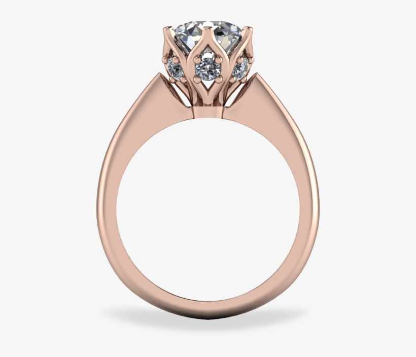Organic Six Claw Solitaire Ring - Black Diamond Equipment, transparent png #3986600
