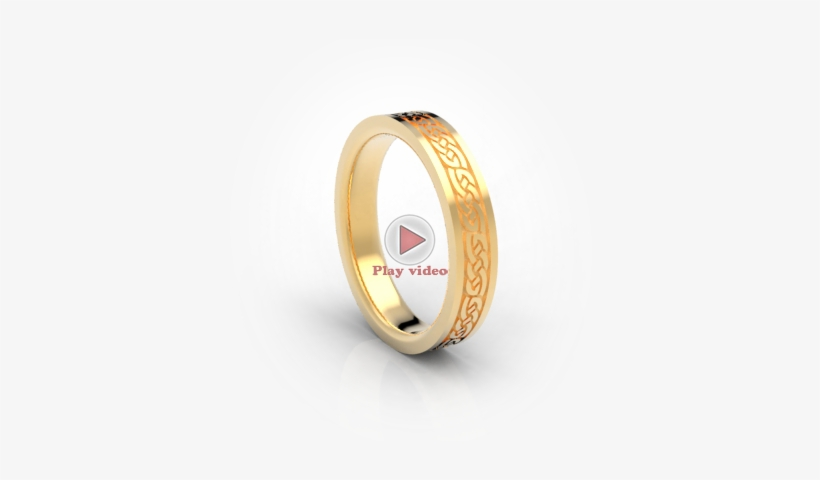 Classic Wedding Bands, Celtic Wedding Bands, White - Circle, transparent png #3986647