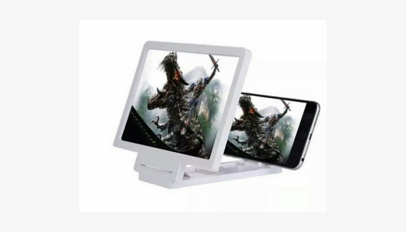 3d Enlarged Screen Mobile Phone Video - Enlarged Screen Mobile Phone 3d Png, transparent png #3987841