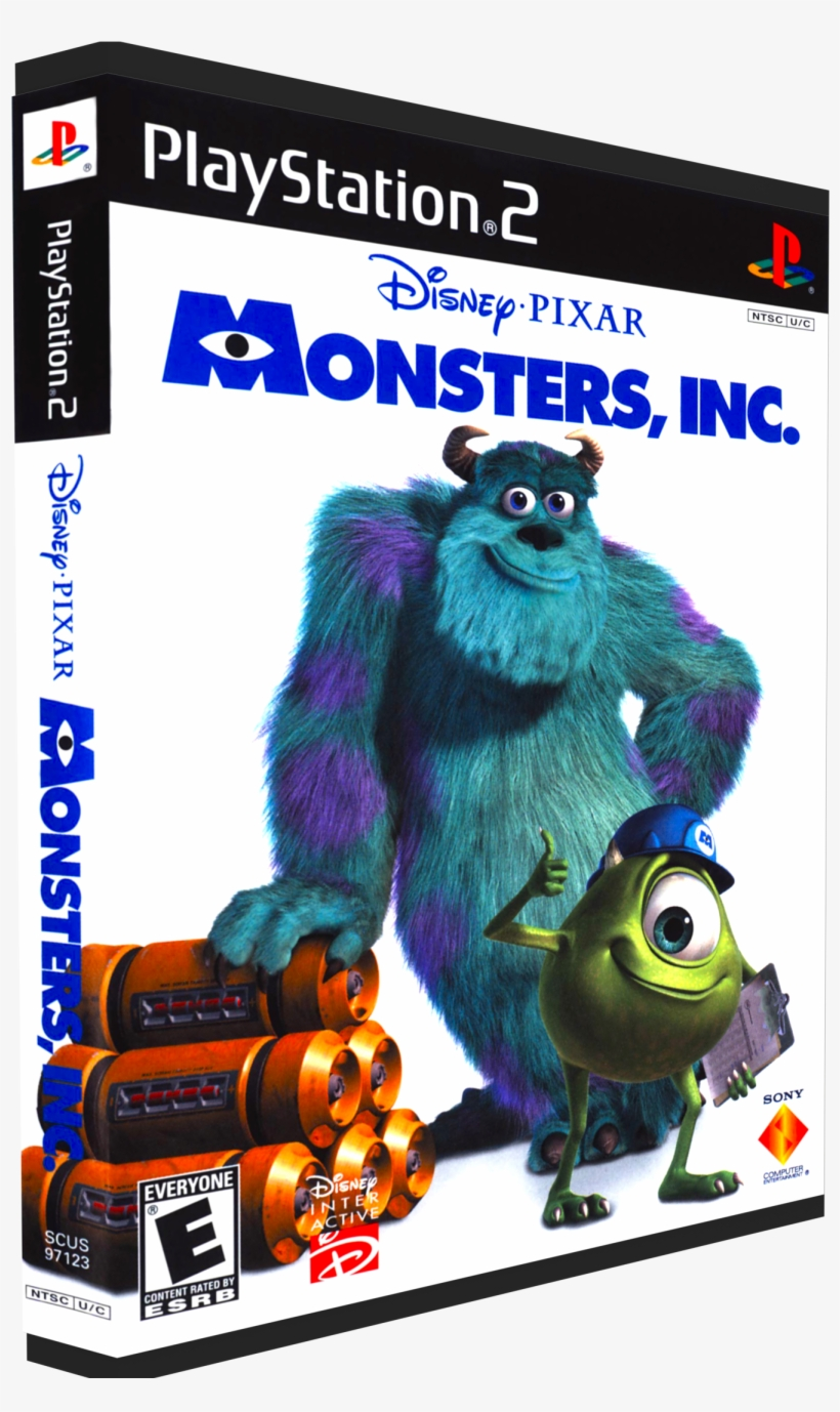 Monsters, Inc - Monsters Inc Playstation 2 Ps2, transparent png #3988177