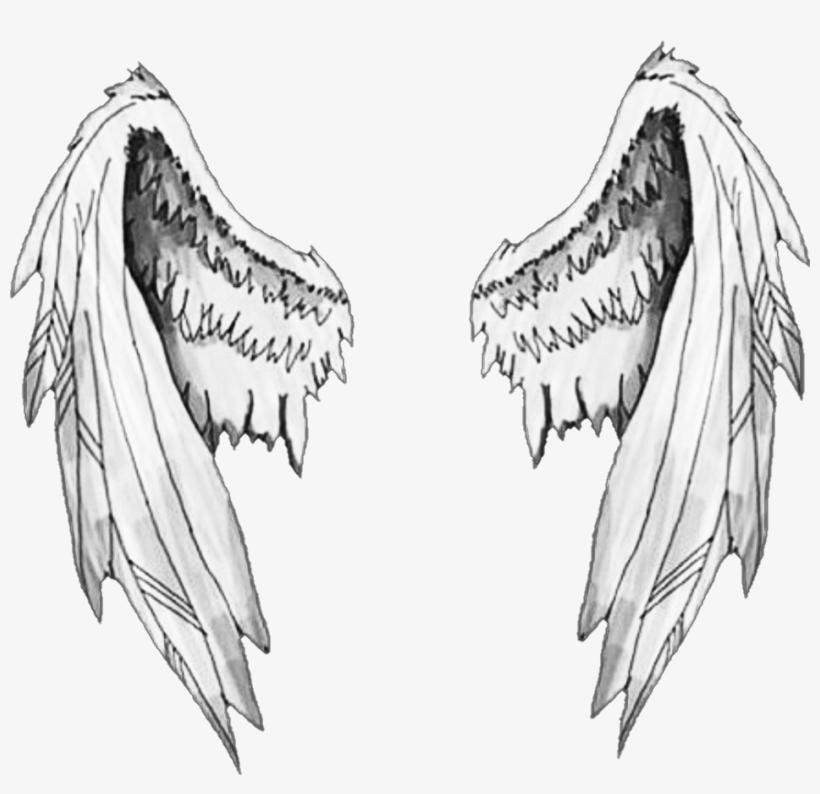 Крылья ангела картинки рисованные