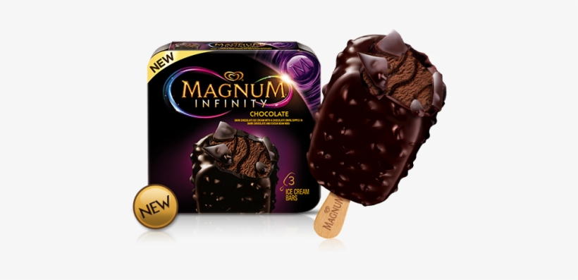 Magnum Ice Cream Bars Multipack Only $2 - Chocolate Ice Cream Popsicles, transparent png #3997736