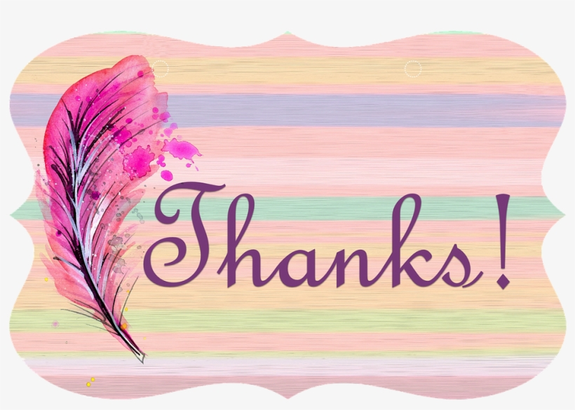 Thank You Label Card - Thank You For Reading Background, transparent png #40716