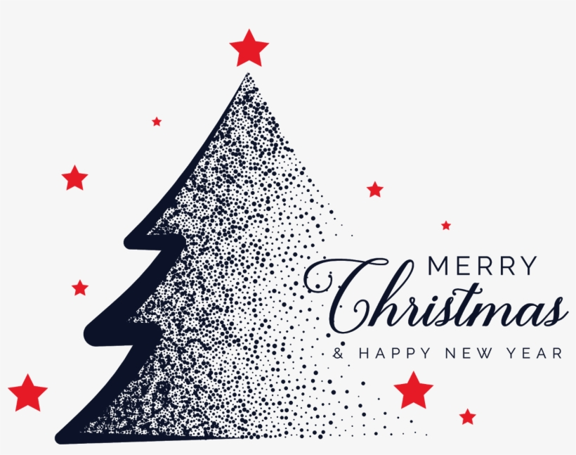 Christmas Png Photo - Png Merry Christmas And Happy New Year Png, transparent png #40778