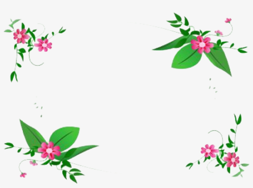 Free Png Flowers Borders Png Images Transparent - Floral Design Border Png, transparent png #41104