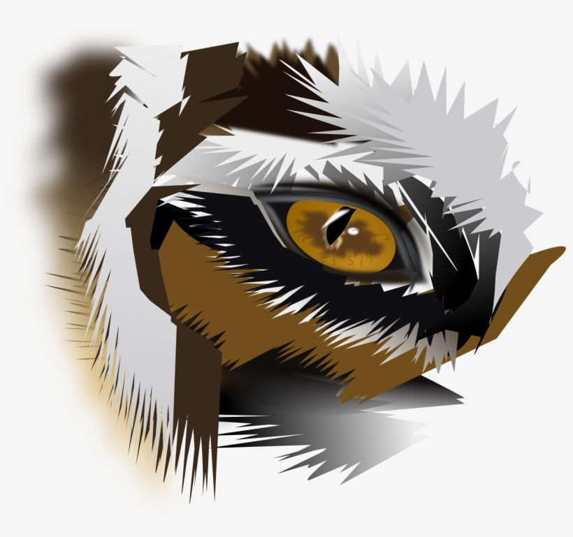 Eye Of The Icons - Logo Png Tiger Eyes, transparent png #41637