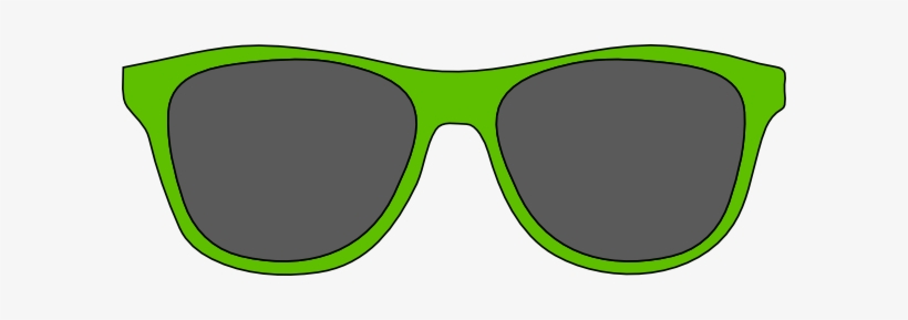 Green Sunglasses Clipart - Green Clip Art Sunglasses, transparent png #42601