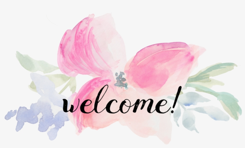 Image result for welcome water color clip art