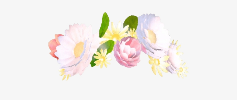 Filter Flowers Bouquet Transparent - Snapchat Filters Flower Crown, transparent png #44274