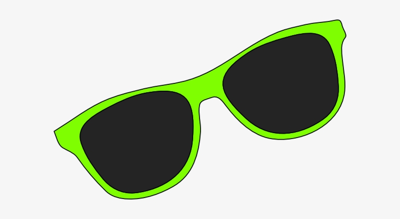 Cartoon Sun With Sunglasses - Clip Art Sunglasses, transparent png #44547