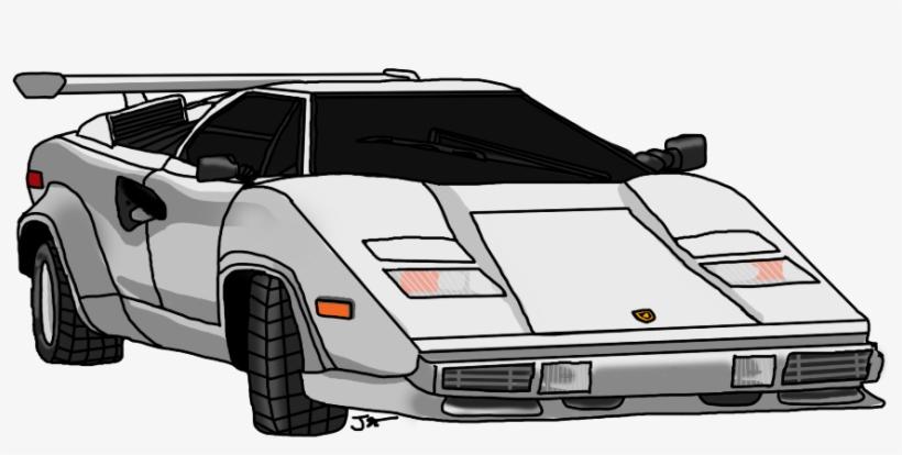 Lamborghini Countach Free Transparent Png Download Pngkey