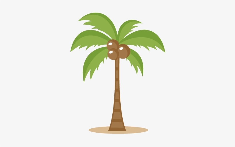 Two Palm Trees Png Clipart Image - Coconut Tree Clipart Transparent Background, transparent png #45074