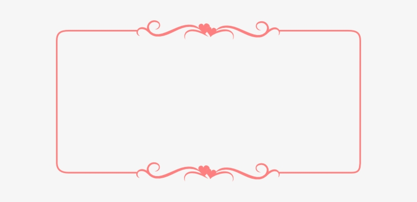 Free Frames And Borders, Cute Borders, Borders Free, - Vintage Border Pink Png, transparent png #45271