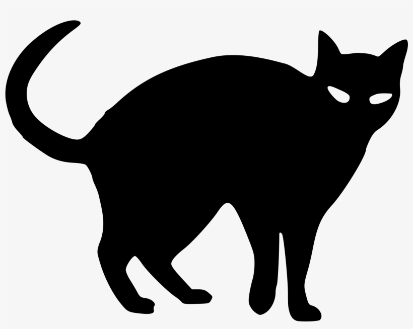 Cat Black - Gato Negro Para Dibujar, transparent png #45366