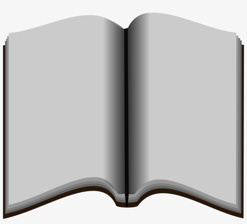 Open Book Png Stock - Empty Book Png, transparent png #45425