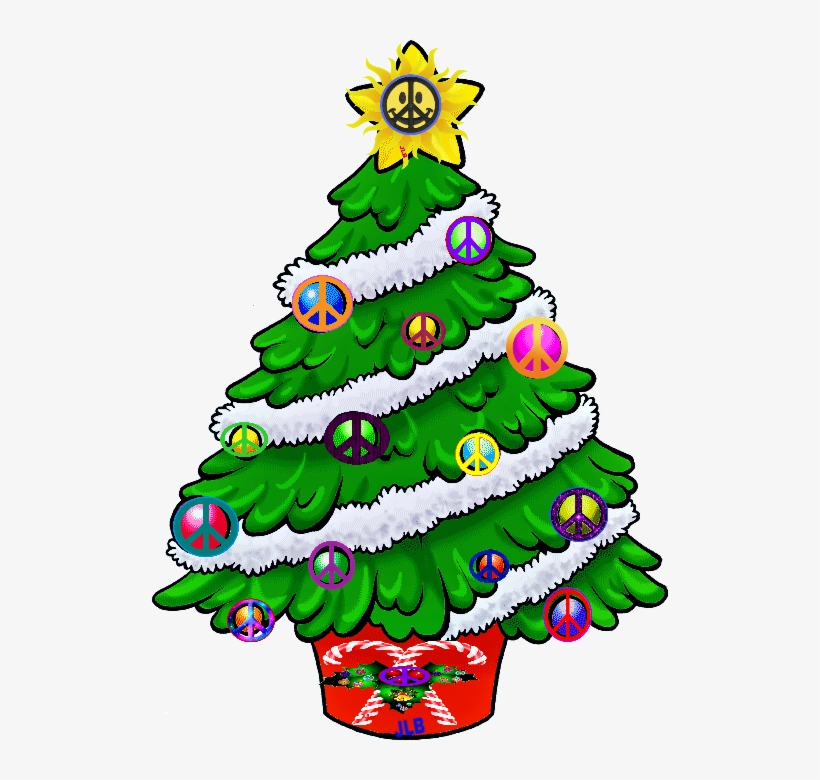 "This Post Contains Some Of The Best Collection Of ""christmas - Decorated Christmas Tree Clipart, transparent png #45818"