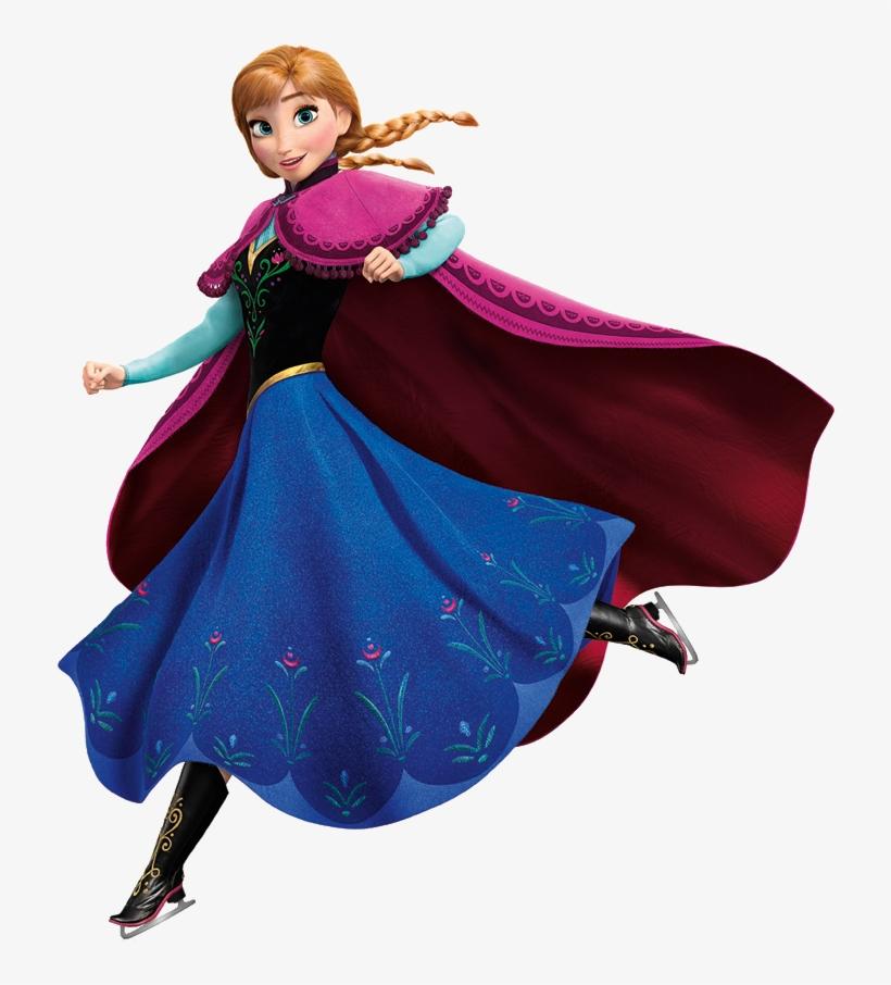 Anna Olaf Frozen Png - Frozen Anna Png, transparent png #45961