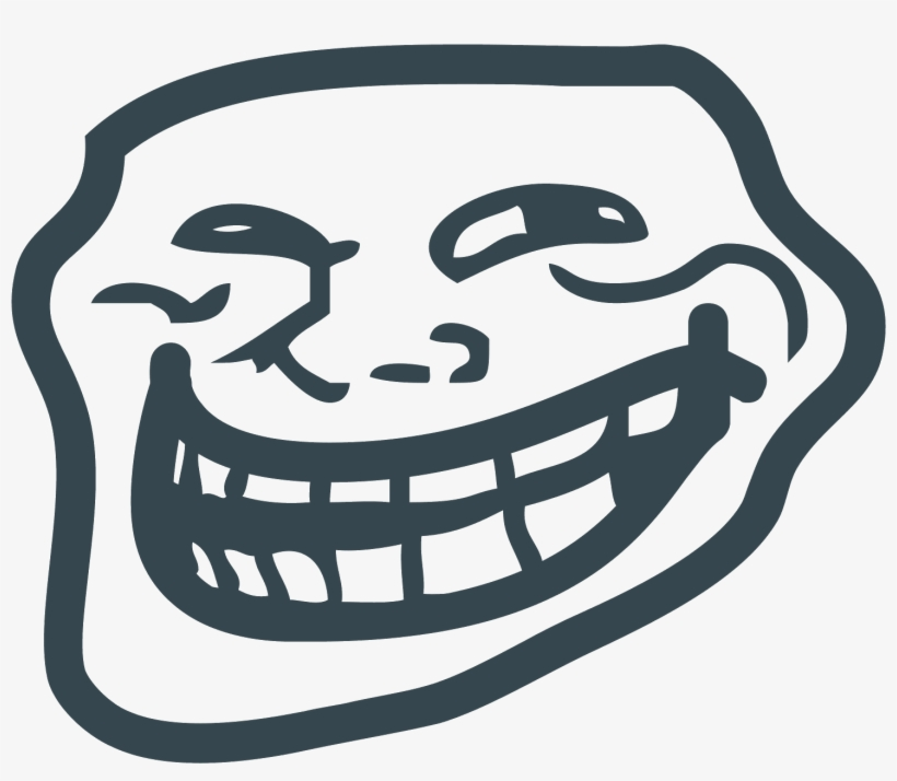 Trollface Icon Free Download - Troll Face Png, transparent png #46096