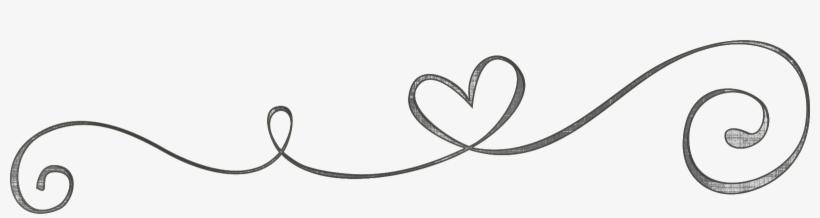 Heart Swirls Png - Clip Art, transparent png #46493