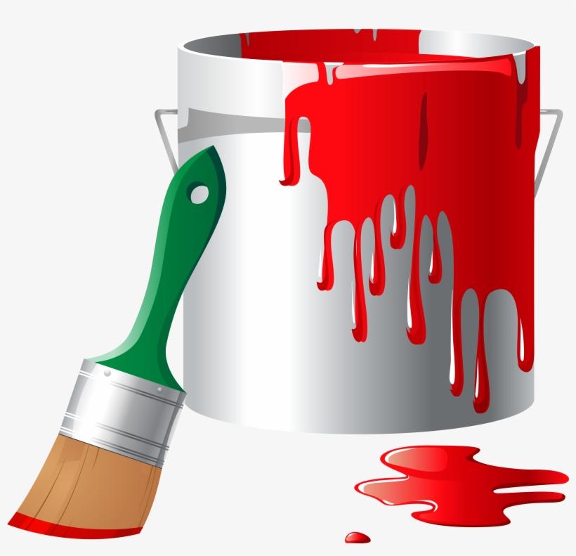 Paint Bucket Png Clip Art - Paint Clip Art Png, transparent png #46718