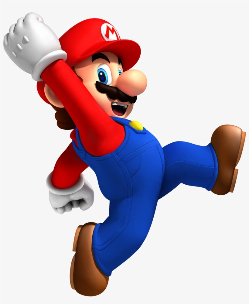 Mario Png - New Super Mario Bros Wii, transparent png #46945