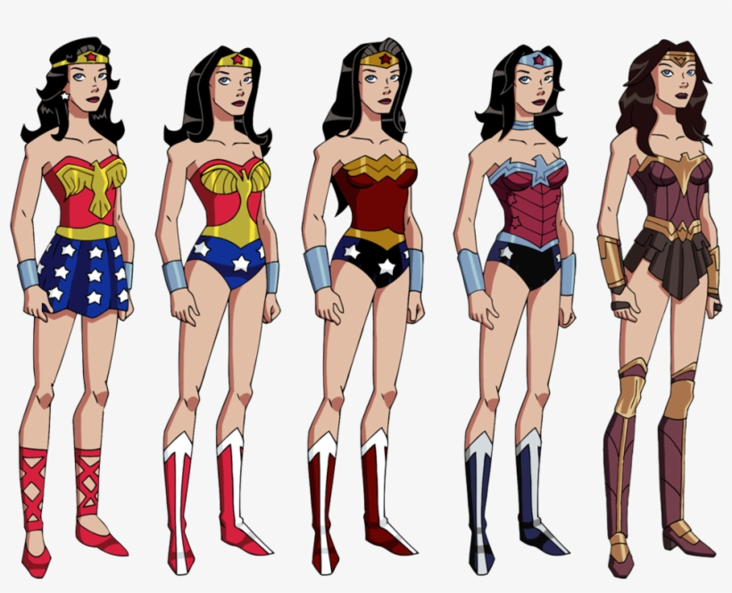 Jpg Royalty Free Download S Wardrobe By Glee Chan On - Wonder Woman First Costume, transparent png #48923