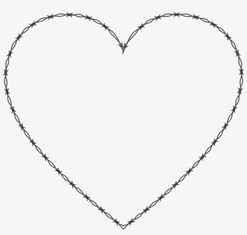 Line Art Drawing Heart Computer Icons - Dotted Line Heart Png, transparent png #48944