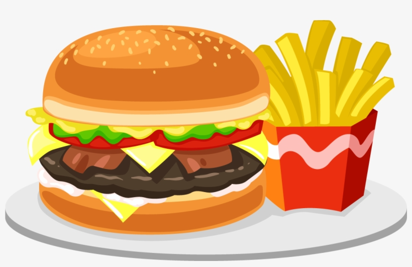 Food Png Transparent Free Images Fast Food Clipart Png Free Transparent Png Download Pngkey