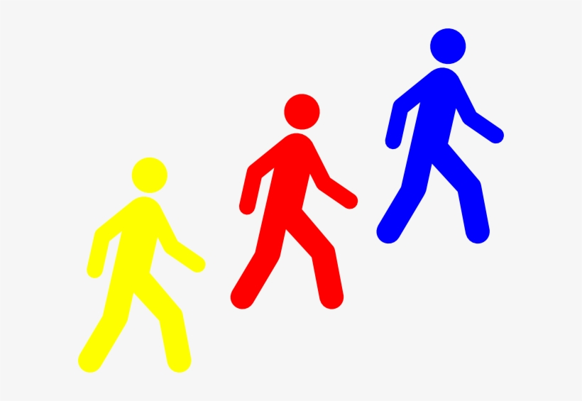 Pix For > Clipart Group Of People Walking - Employee Entrance Only Sign - Business Door Signs,, transparent png #401181