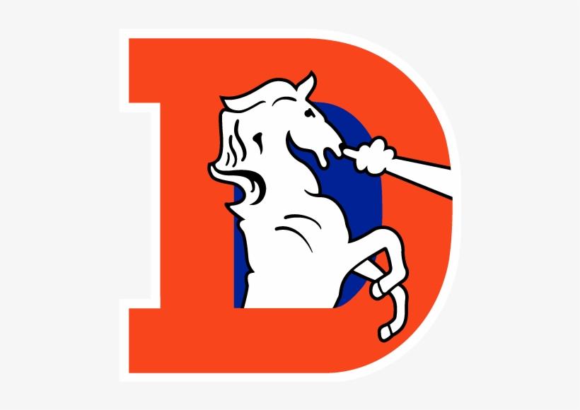 Complete Denver Broncos Helmet History [archive] - Old Denver Broncos Logo, transparent png #403512