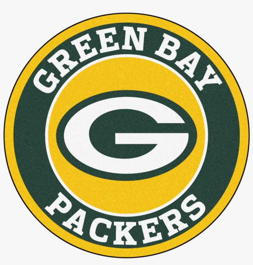 Green Bay Packers Logo - Fanmats Nfl Green Bay Packers Roundel Mat, transparent png #403790