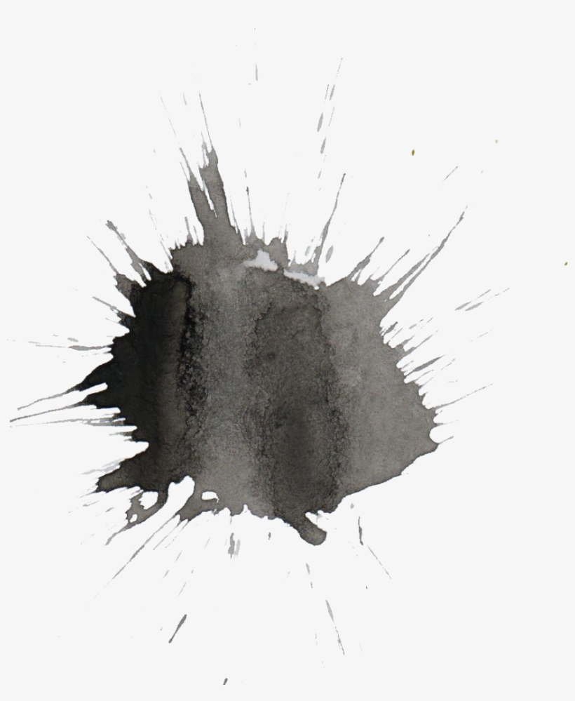 Png File Size - Watercolor Png Black White Free, transparent png #404162