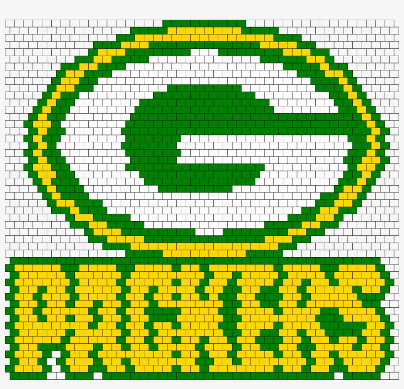 Green Bay Packers Fuse Beads, transparent png #405012
