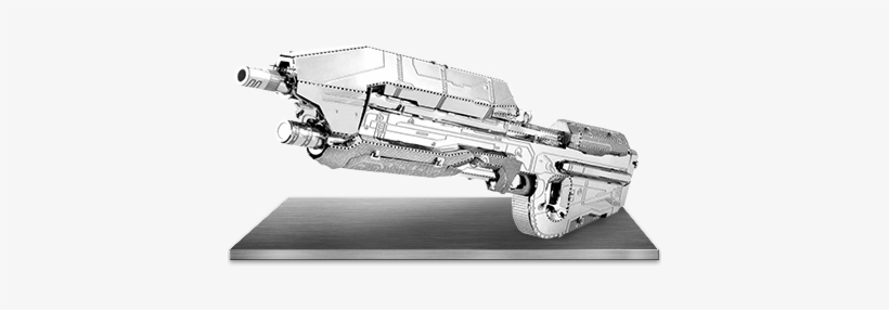 Picture Of Halo - Halo Assault Rifle Metal Earth Model Kit, transparent png #405740