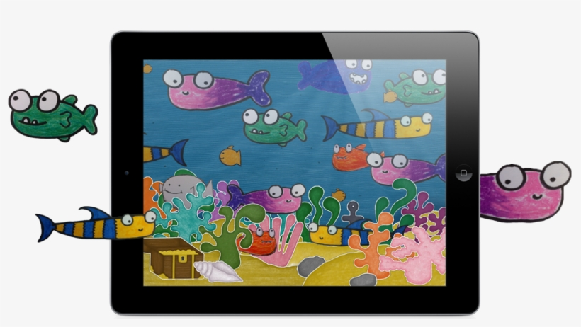 Squiggle Fish Ipad Clipart For Kids Free Transparent Png