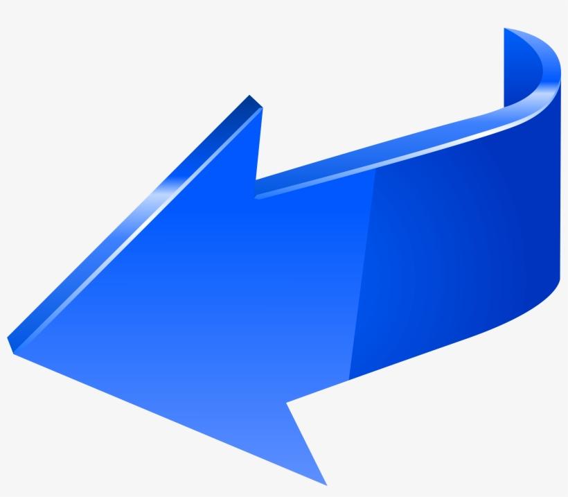 Clip Library Stock Left Transparent Clip Art Image - Left Arrow Png Blue, transparent png #409404