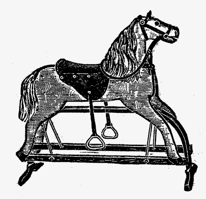 Vintage Toy Rocking Horse Images